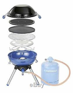 1 Burner Stainless Steel Gas Table Top Barbecue BBQ Camping Grill Stove Portable