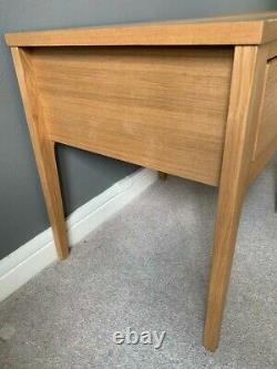 2 John Lewis Maine Ash wood bedside tables excellent condition rrp £250