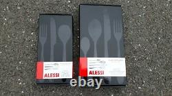 Alessi Nuovo Milano Cutlery (6 x table sets, 6 x dessert total 42 pieces)