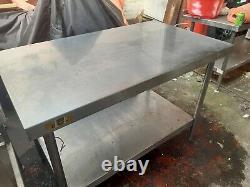 Bartlett Stainless Steel Work Table