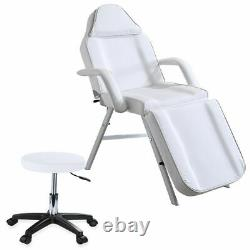 Beauty Salon Bed Massage Table Tattoo Spa Treatment Couch Chair With Stool Set UK