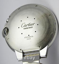 Cartier Ballon Bleu REF. Travel Alarm, Table Pocket Watch 610mm 3038 / 674146GD