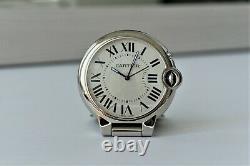 Cartier Ballon Bleu Travel Alarm Table Pocket Watch ref. 3038