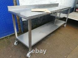 Catering Stainless Steel Table Fully Welded Best Quality