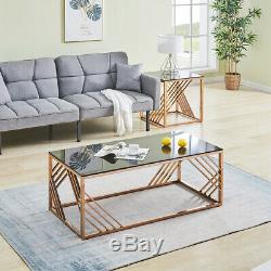 Coffee Table End Table Side Table Stainless Steel Legs Console Table Living Room