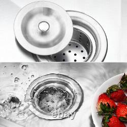 Commercial Heavy Stainless Steel Sink & Wash Table Single Bowl Catering Kitchen
