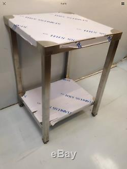 Commercial Kitchen Stainless Steel Catering Work Bench Table 2ft 600x600