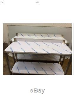 Commercial Kitchen Stainless Steel Catering Work Prep Table 6ft 1800x600