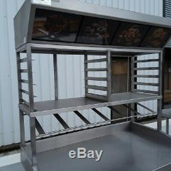 Commercial Pizza Table Prep Bench Stainless Steel