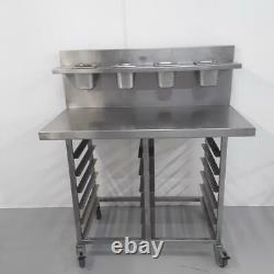 Commercial Stainless Steel Pizza Table Work Bench Shelf