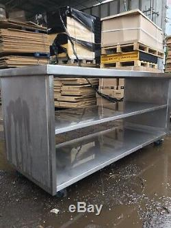 Commercial Stainless Steel Prep Table