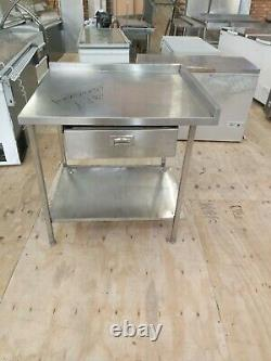 Commercial Stainless steel strong worktop table pizza oven stand 100X90X90 CM