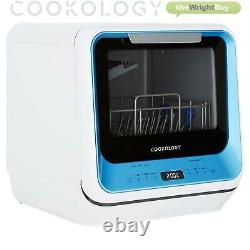 Cookology CMDW2BLUE Mini Table Top Dishwasher with Baby Care & Fruit Wash