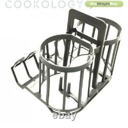 Cookology CMDW2GD BAB01 Mini Portable Dishwasher Table Top with Baby Bottle Rack