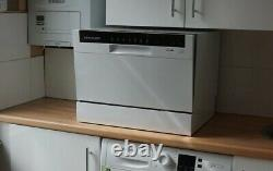 Cookology CTTD6WH Table Top Dishwasher