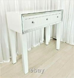 Dressing Table WHITE Mirrored Vanity Table PURO PREMIUM PLUS Console Desk SALE