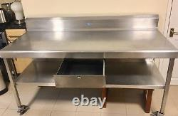 Eclipse Heavy duty Stainless steel table
