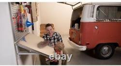 Folding Workbench Table 36 In. X 17.75 In. Board Brackets Stainless Steel