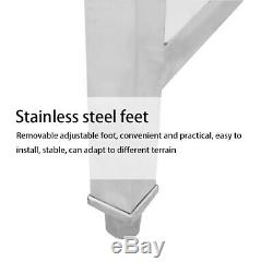 Freestanding Wash Sink Catering Kitchen Stainless Steel Basin Operating Table UK