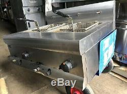 Lincat DF7/N Silverlink 600 Twin Tank Gas Fryer Table Top Natural Gas Fryer