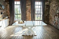 Lyra Luxury Extendable Dining Table Set with a Choice of 4 or 6 Luxury Chairs