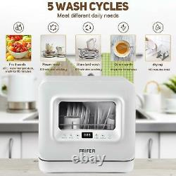 Mini Portable Dishwasher Freestanding Table Countertop With Baby Care Fruit Wash