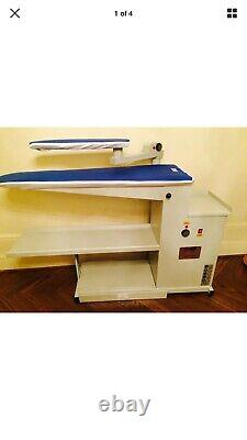 NEW INDUSTRIAL HEATED VACUME TABLE With HEATED SLEEVE