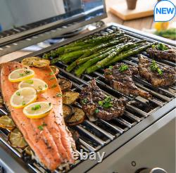 Nexgrill 2 Burner Stainless Steel Table Top Gas Barbecue
