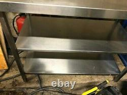 Parry 60cm x 132cm Stainless Steel Catering Table
