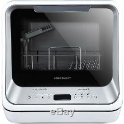 Refurbished Cookology CMDW2SL Mini Portable Dishwasher Table Top