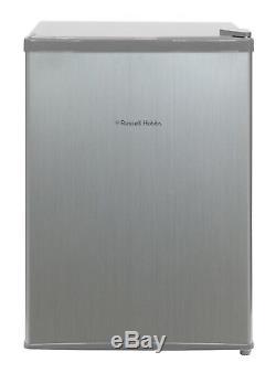 Russell Hobbs RHTTF67SS 66L Table Top Mini Fridge/Cooler Stainless Steel GradeA+