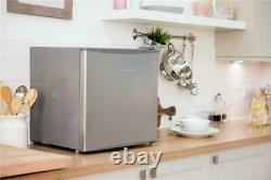 Russell Hobbs RHTTLF1SS 43L Table Top Mini Fridge and Cooler, Stainless Steel