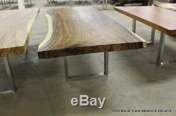 Set of 31 wide Legs Dining for Table slabs all weights stainless steel sturdy