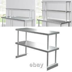 Stainless Steel Commercial Kitchen Work Food Prep Table Workbench Kitchen Top uk