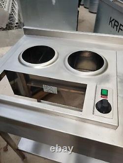 Stainless Steel Corner Table Kitchen Prep Worktop/bench/