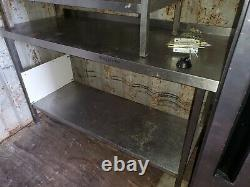 Stainless Steel Preparation Table Work Bench 1500mm/650mm/900mm