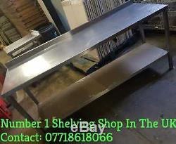 Stainless Steel Table With under shelf at clearance price/sale/must go