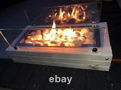 Stylish Unique Table Top Patio Gas Fire Stove / Pit