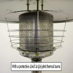 Table Top Gas Patio Heater 3KW Portable Outdoor Steel Garden Heater