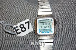 Vintage Seiko D409-5009 Sign Table Memory Vintage 1980's NEW BATTERY! Serviced