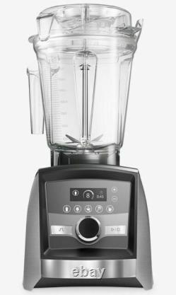 Vitamix Ascent Series A3500 Table Top Blender Brushed Stainless Steel